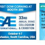 Dow Corning en SAE Brake Colloquium & Exhibition