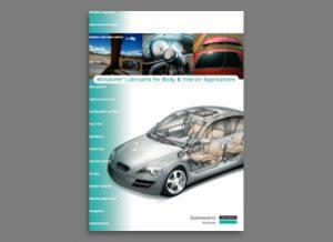 Lubricantes para aplicaciones en carrocerías e interiores molykote