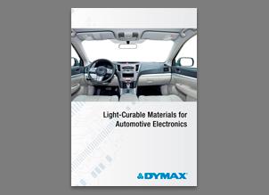 Dymax Materiales UV para automoción