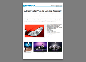 dymax luces automocion