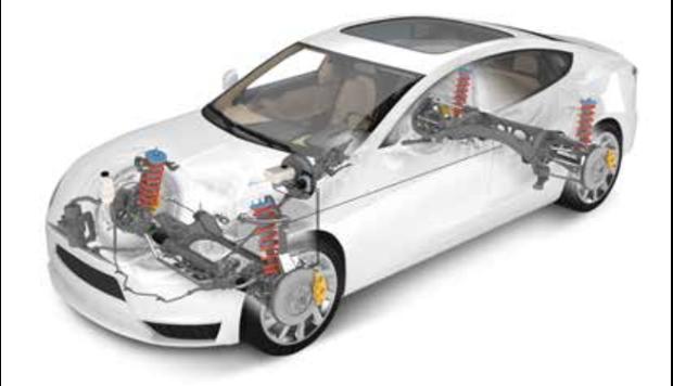 Chasis y sistema de frenos