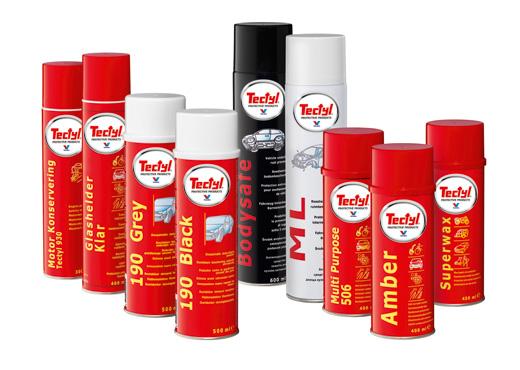 proteccióny prevención contra el óxido tectyl