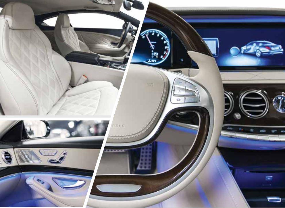 Lubricantes para interiores de vehículos