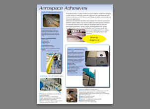 adhesivos para sector aeroespacial
