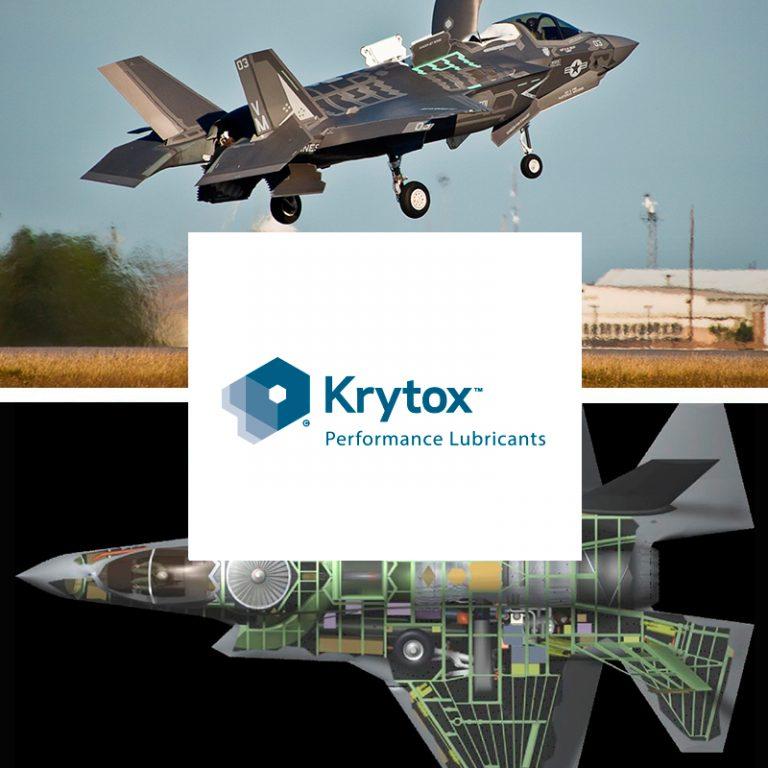 lubricantes Krytox Aplicaciones aeroespaciales