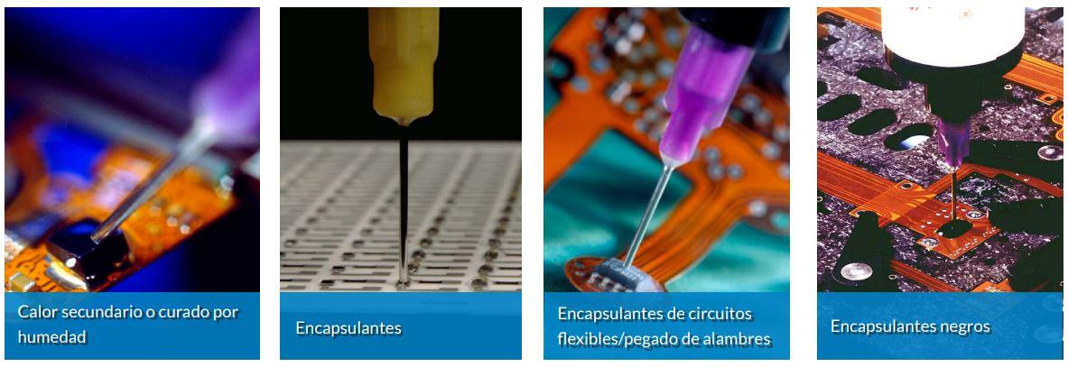 Encapsulantes electronicos y electricos