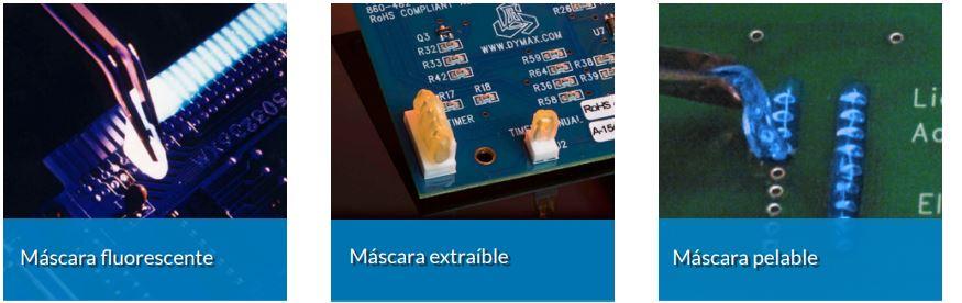 Máscaras extraíbles Dymax