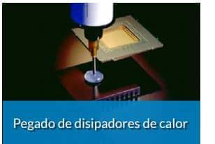 Transferencia térmica eficiente entre los disipadores de calor y electrónicos