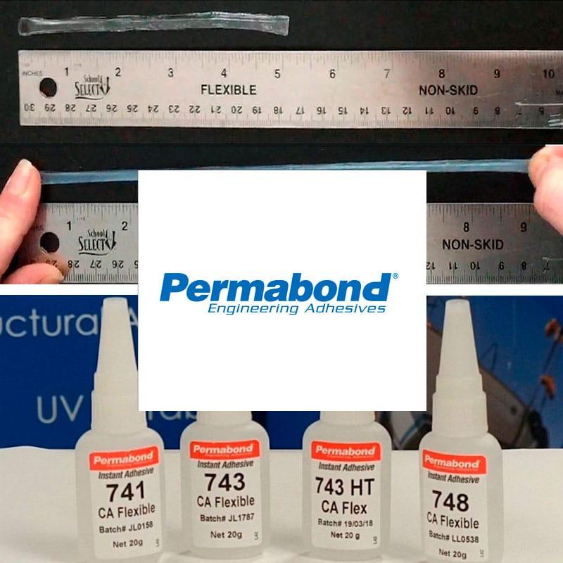Cianocrilatos flexibles Permabond