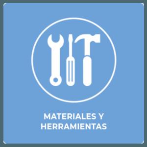 Materiales herramientas industriales
