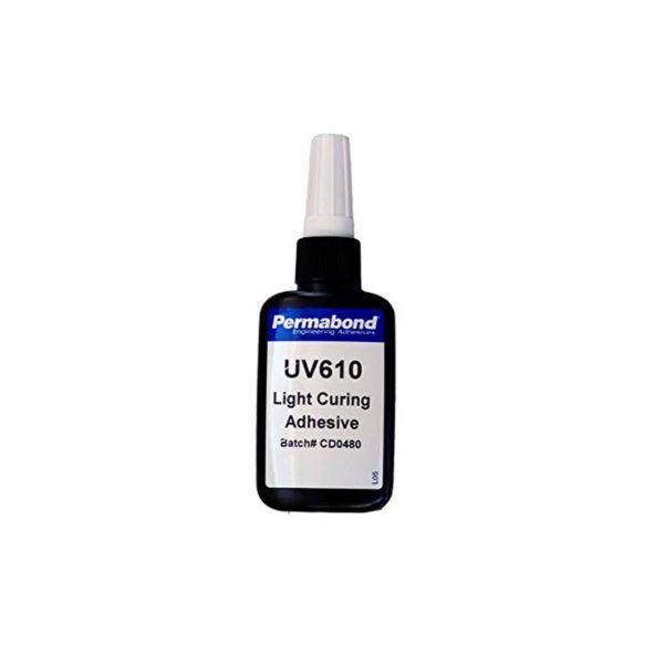 Permabond UV610 Adhesivo para vidrio y metal