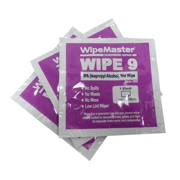 WipeMaster® WIPE 9 IPA (Isopropyl Alcohol) Wipes