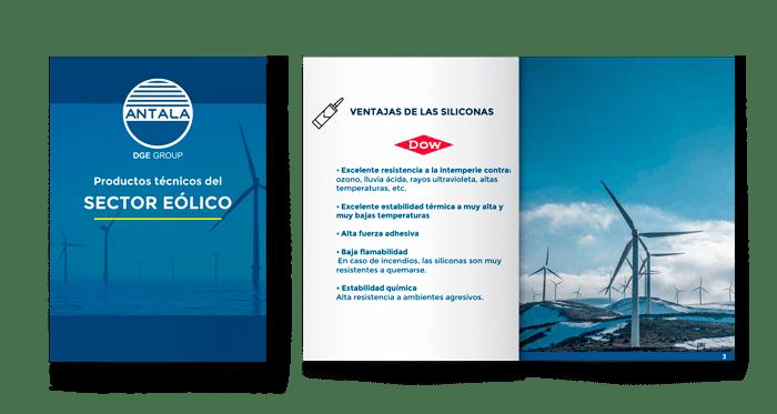 productos para el sector eólico