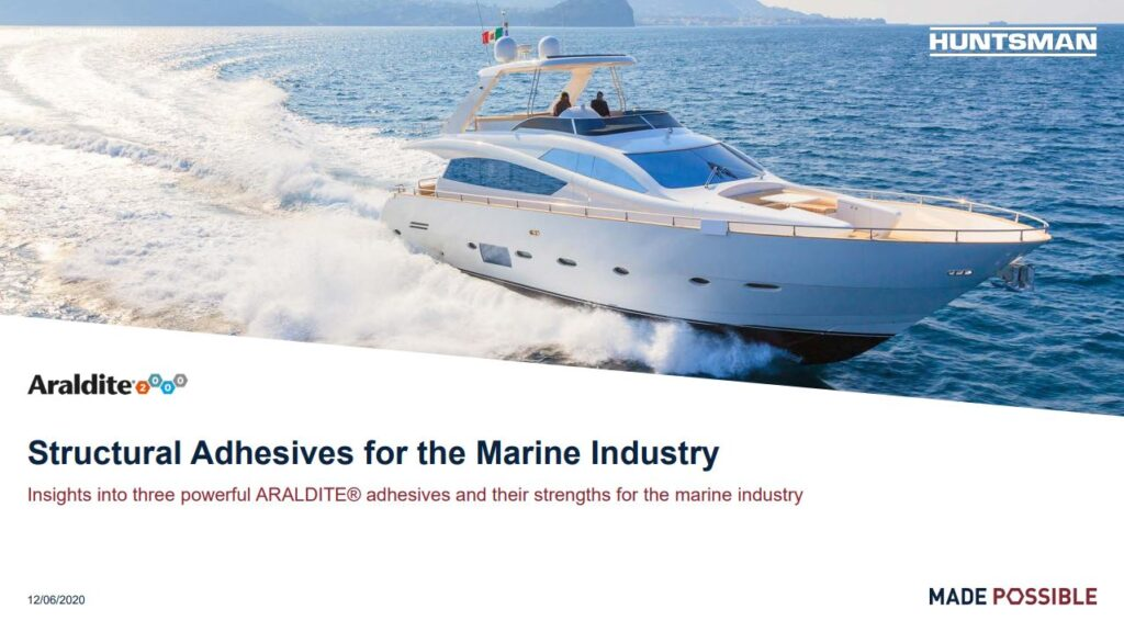 structural adhesives for marine