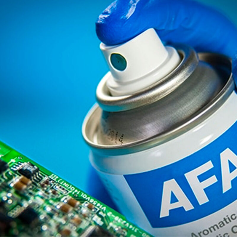 Barnices electrónica o Conformal Coatings